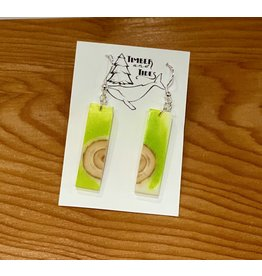 Timber and Tides Timber & Tides Resin & Christmas Tree Earrings 21-31