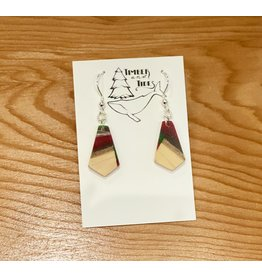 Timber and Tides Timber & Tides Resin & Christmas Tree Earrings 21-34