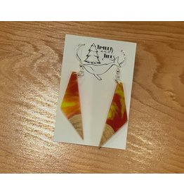 Timber and Tides Timber & Tides Resin & Christmas Tree Earrings 21-30