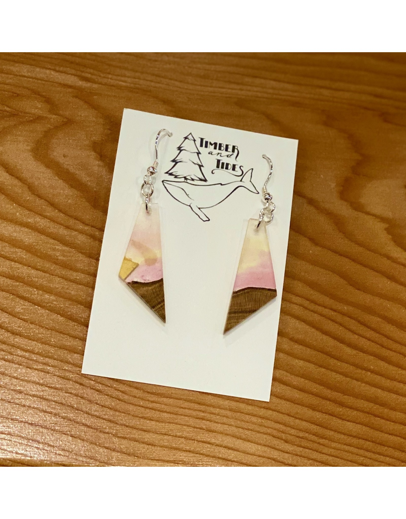 Timber and Tides Timber & Tides Resin & Cherry Earrings 21-35