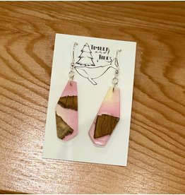 Timber and Tides Resin & Cherry Earrings (21-36)