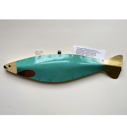 Dick Libby Turquoise Fish #21-03