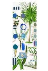 Smilow + Mathiesen Blue Botanical Scarf | Pamela Smilow