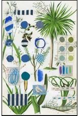 Smilow + Mathiesen Blue Bird Tea Towel   Pamela Smilow