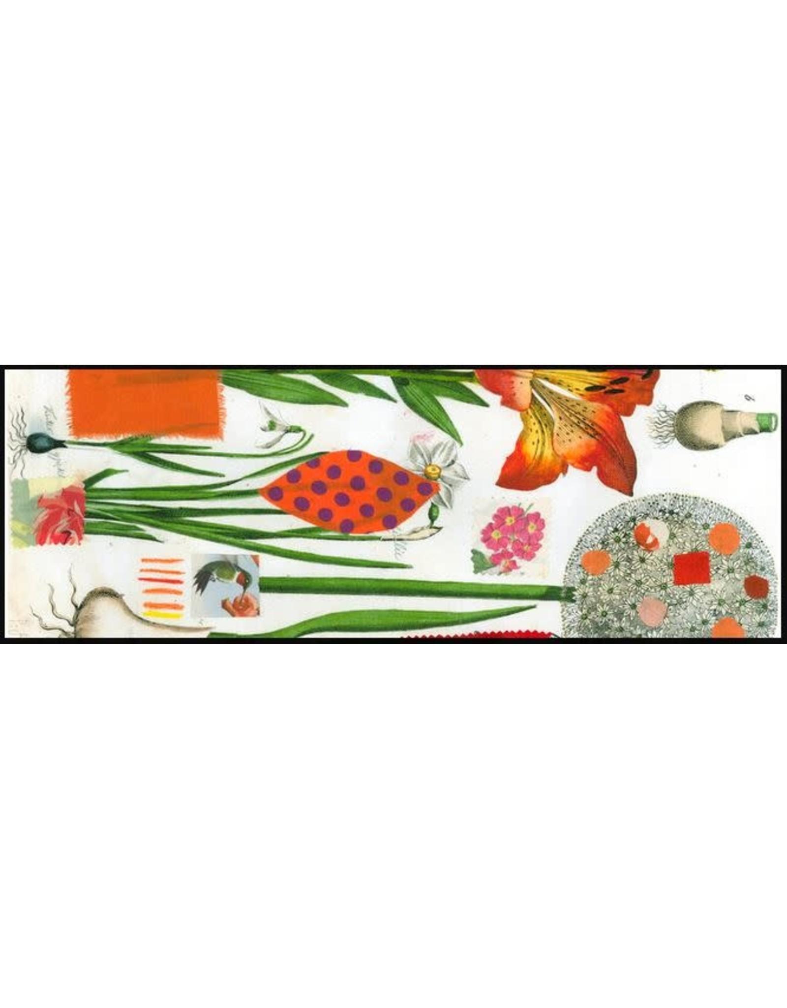 Smilow + Mathiesen Orange Botanical Runner | Pamela Smilow