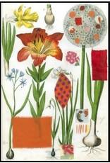 Smilow + Mathiesen Orange Lily Tea Towel | Pamela Smilow