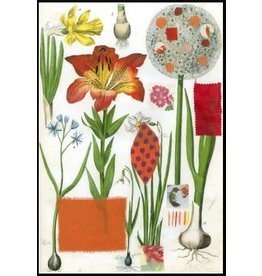 Smilow + Mathiesen Orange Lily Tea Towel