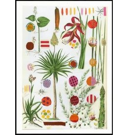 Smilow + Mathiesen Red Palm Tea Towel
