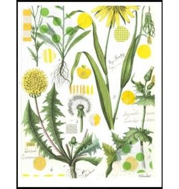 Smilow + Mathiesen Yellow Dandelion Tea Towel