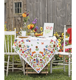 April Cornell Sister Garden Tablecloth 54x54
