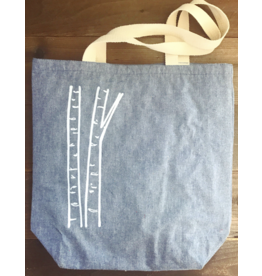 Printworthy Arts Tote Bag Birch Trees