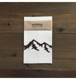 Printworthy Arts Mountains Tea Towel