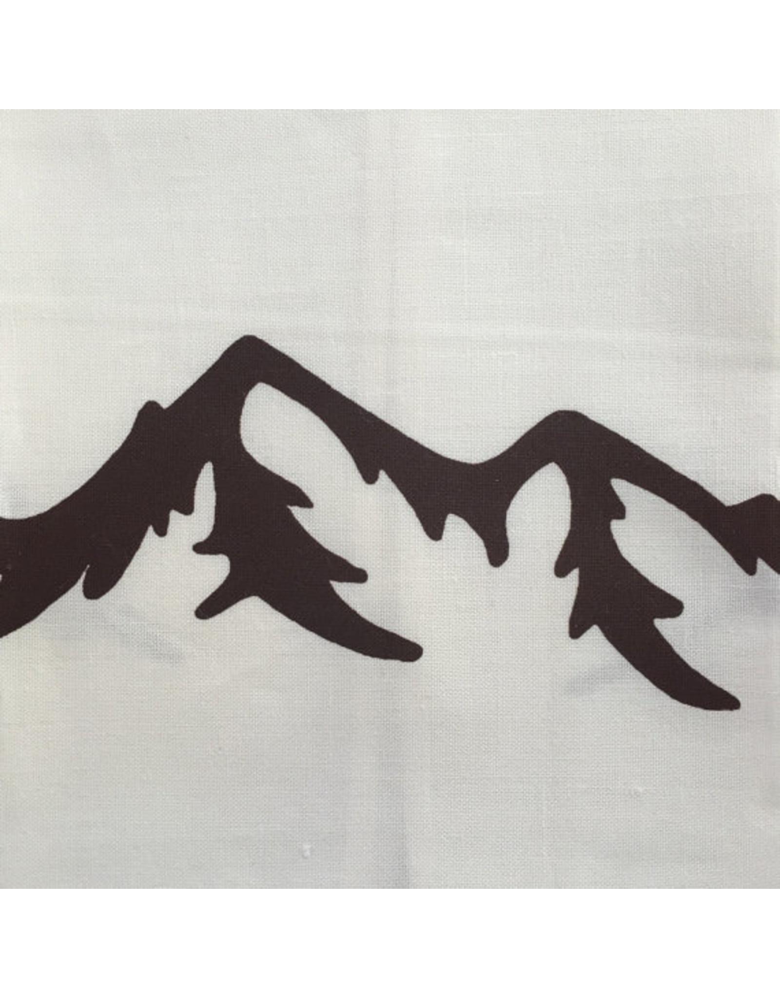Printworthy Arts Mountains Tea Towel   Macy Possenti