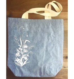 Printworthy Arts Wildflowers Tote Bag