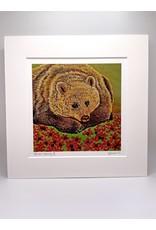 "DogwoodStudioAlaska ""Bear-Berry II"" | Yumi Kawaguchi"