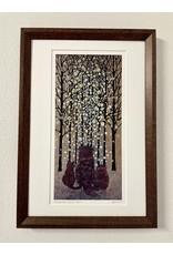 """DogwoodStudioAlaska """"Diamond Dust Sun"""" (Framed)   Yumi Kawaguchi"""