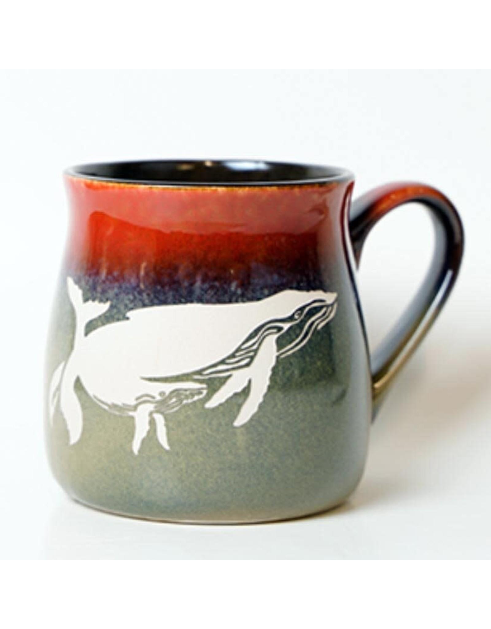 Brecht Studio Bistro Mug (humpbacks)   Brecht Studio