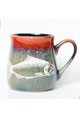 Brecht Studio Bistro Mug (salmon) | Brecht Studio