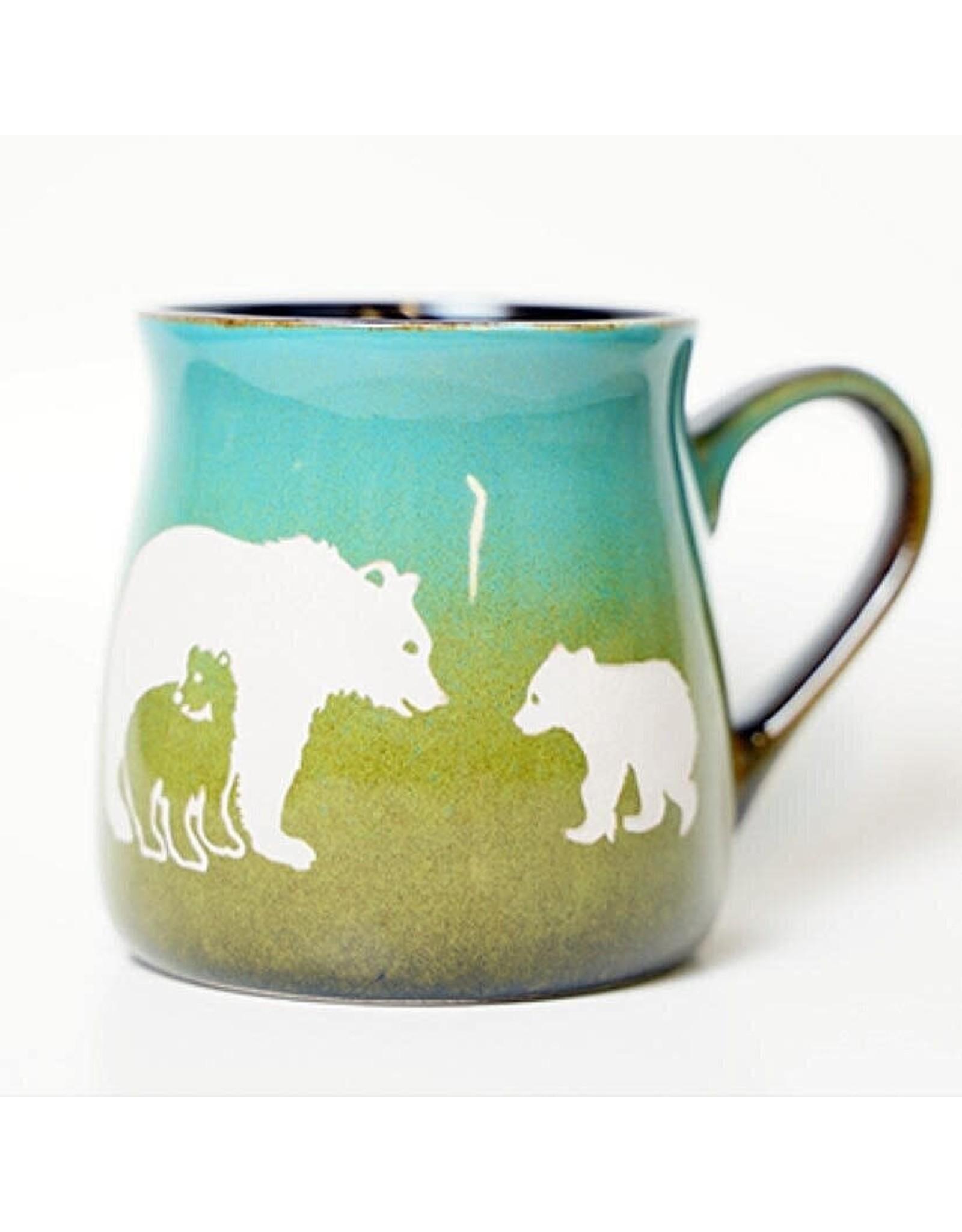 Brecht Studio Bistro Mug (bear family) | Brecht Studio
