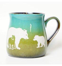 Brecht Studio Bistro Mug (bear family)