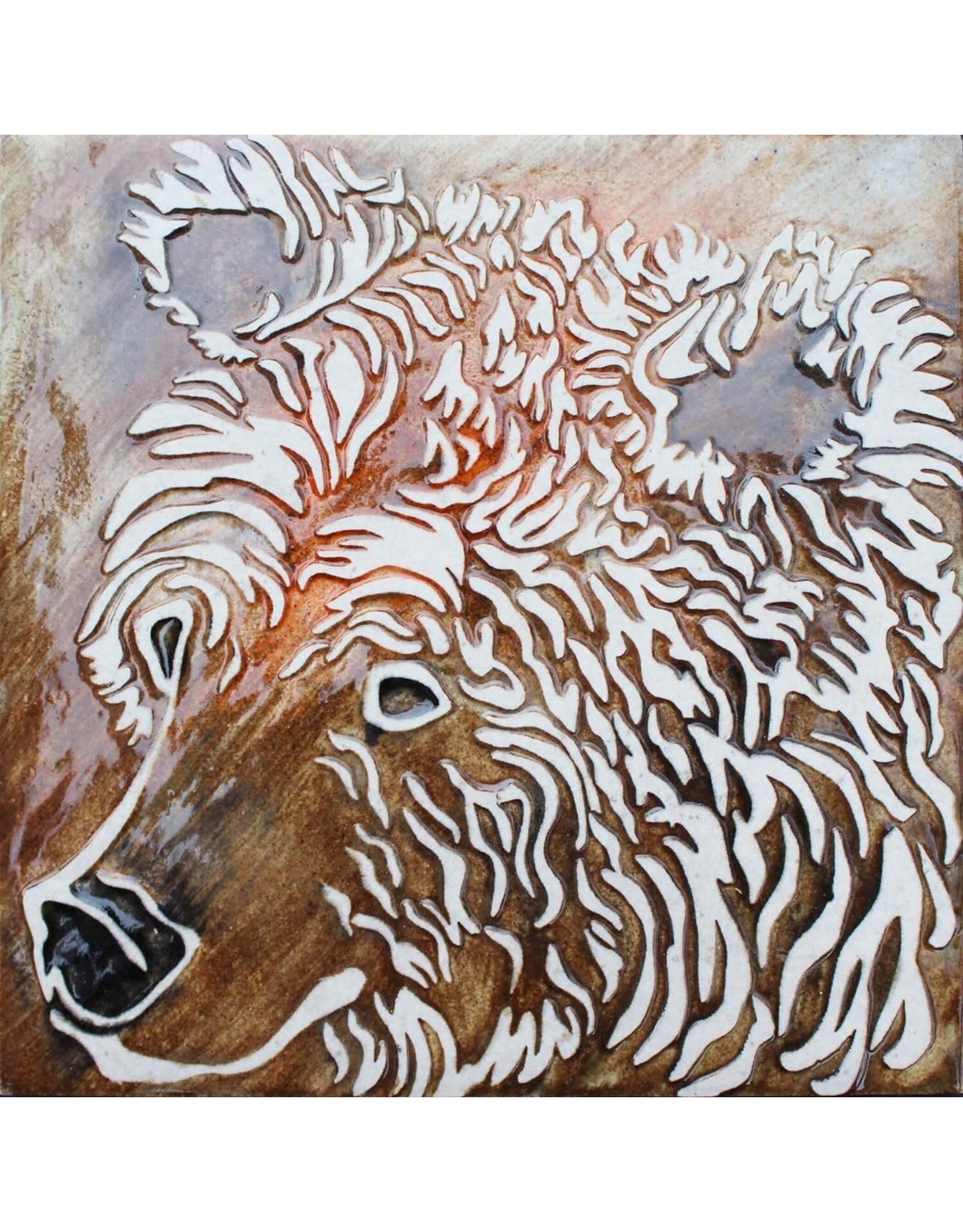 Brecht Studio Tile Trivet (grizzly) | Brecht Studio