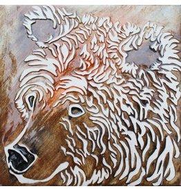 Brecht Studio Tile Trivet (grizzly)
