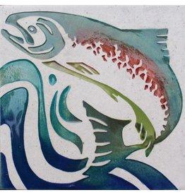 Brecht Studio Tile Trivet (salmon)