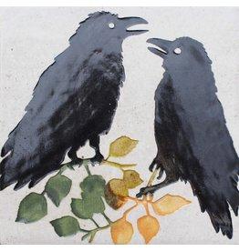 Brecht Studio Tile Trivet (ravens)