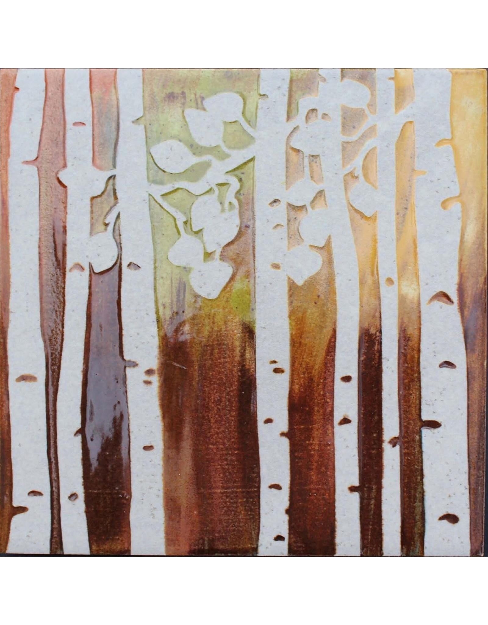 Brecht Studio Trivet Tile (birch trees) | Brecht Studio
