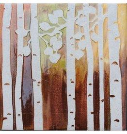 Brecht Studio Trivet Tile (birch trees)