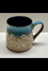 Brecht Studio Bistro Mug (chickadee) | Brecht Studio