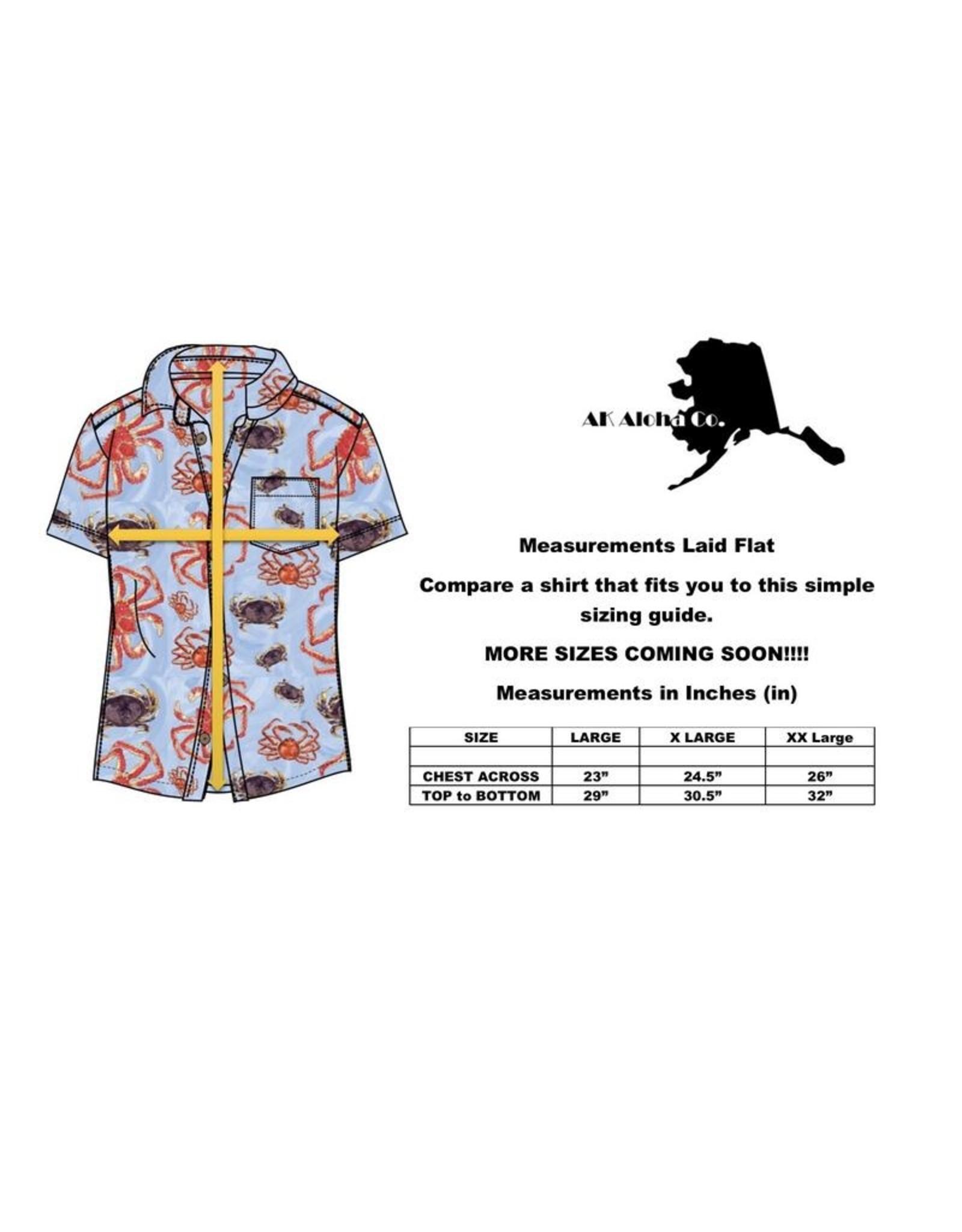 AK Aloha Humpback and Orca   AK Aloha Co. Shirt