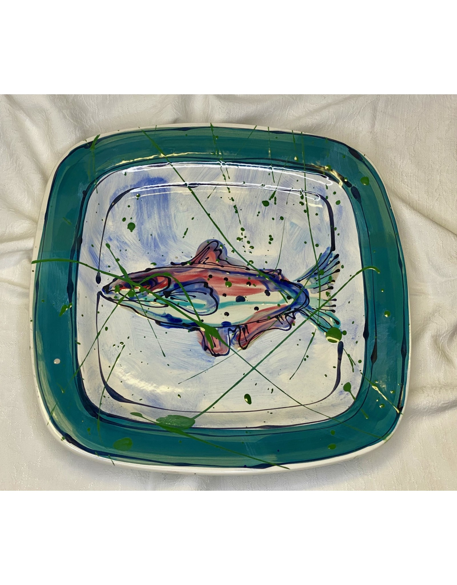 Donna Toohey Square Platter | Donna Toohey