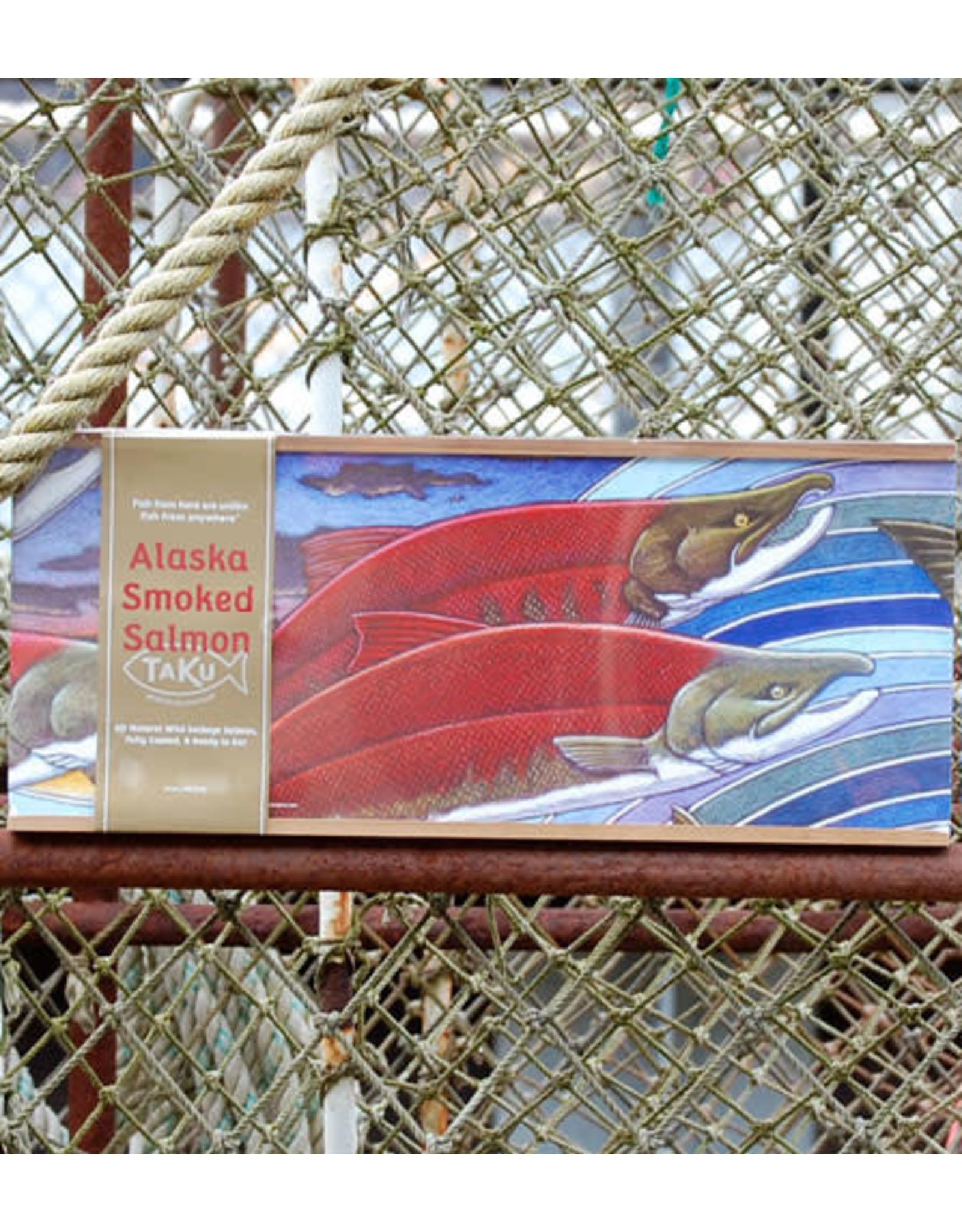Taku Smokeries 16oz Smoked Sockeye Box | Taku Smokeries