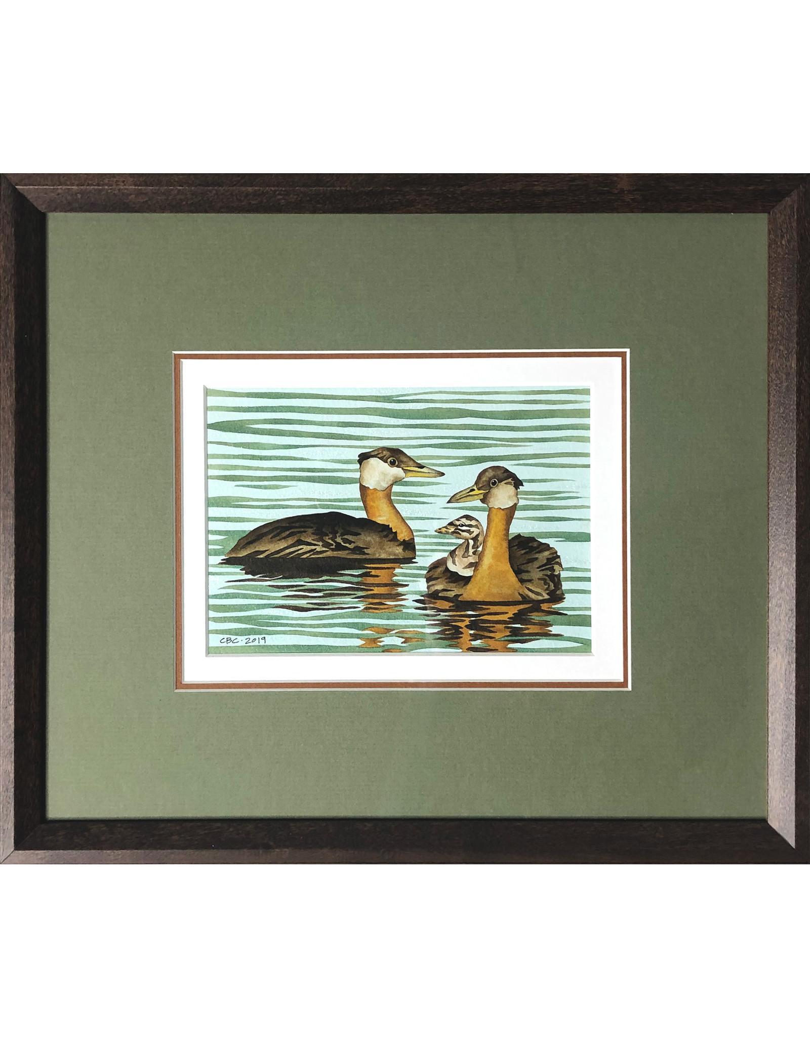 Courtenay Birdsall-Clifford Grebe Family (framed original) | Courtenay Birdsall-Clifford