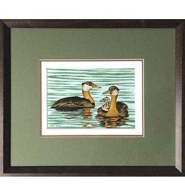 Courtenay Birdsall-Clifford Grebe Family (framed original)