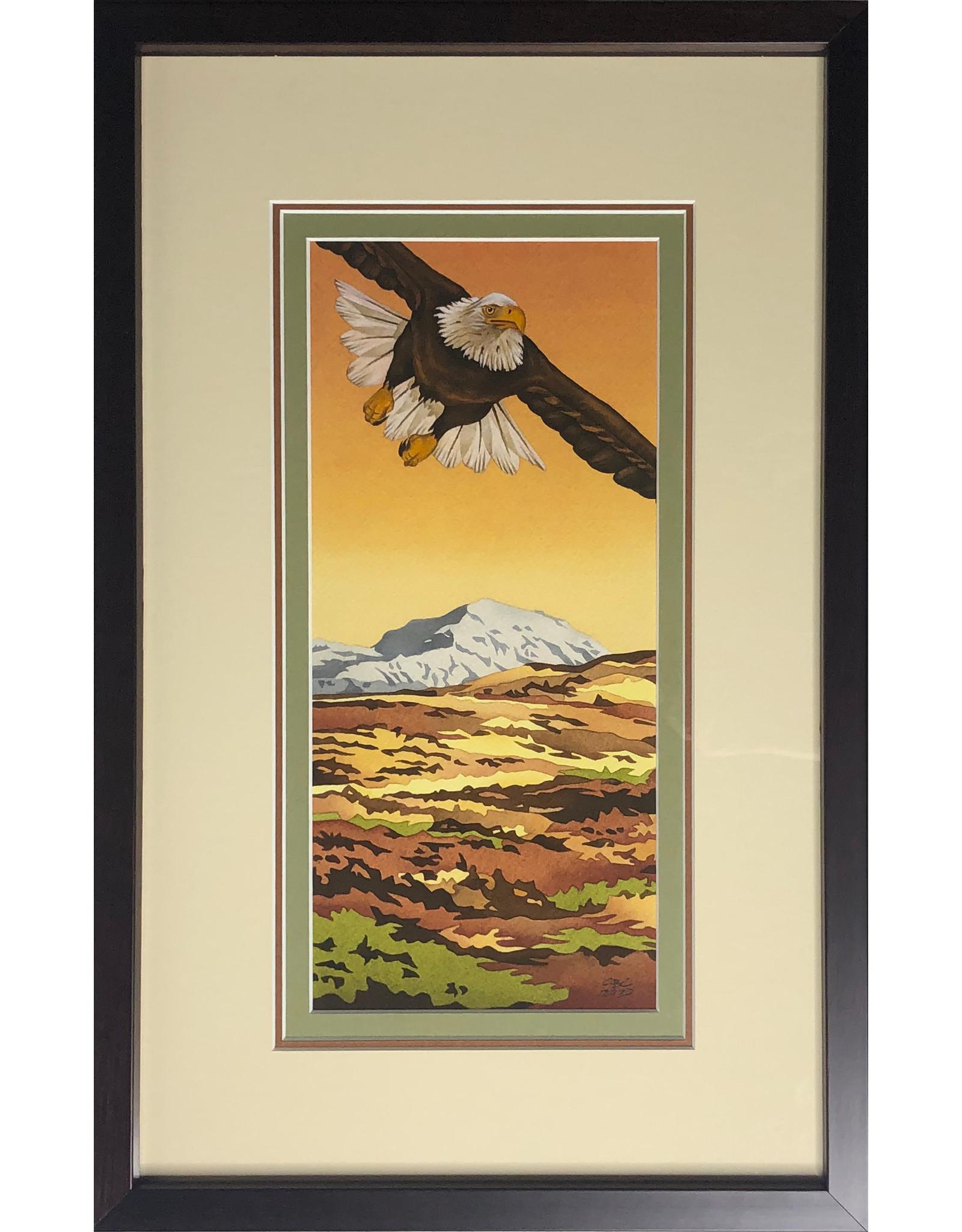 Courtenay Birdsall-Clifford Tundra Glide (framed original) | Courtenay Birdsall-Clifford