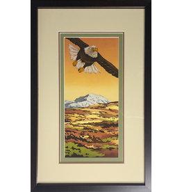 Courtenay Birdsall-Clifford Tundra Glide (framed original)