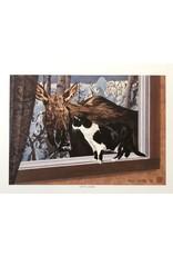 Byron Birdsall Cat & Moose | Byron Birdsall