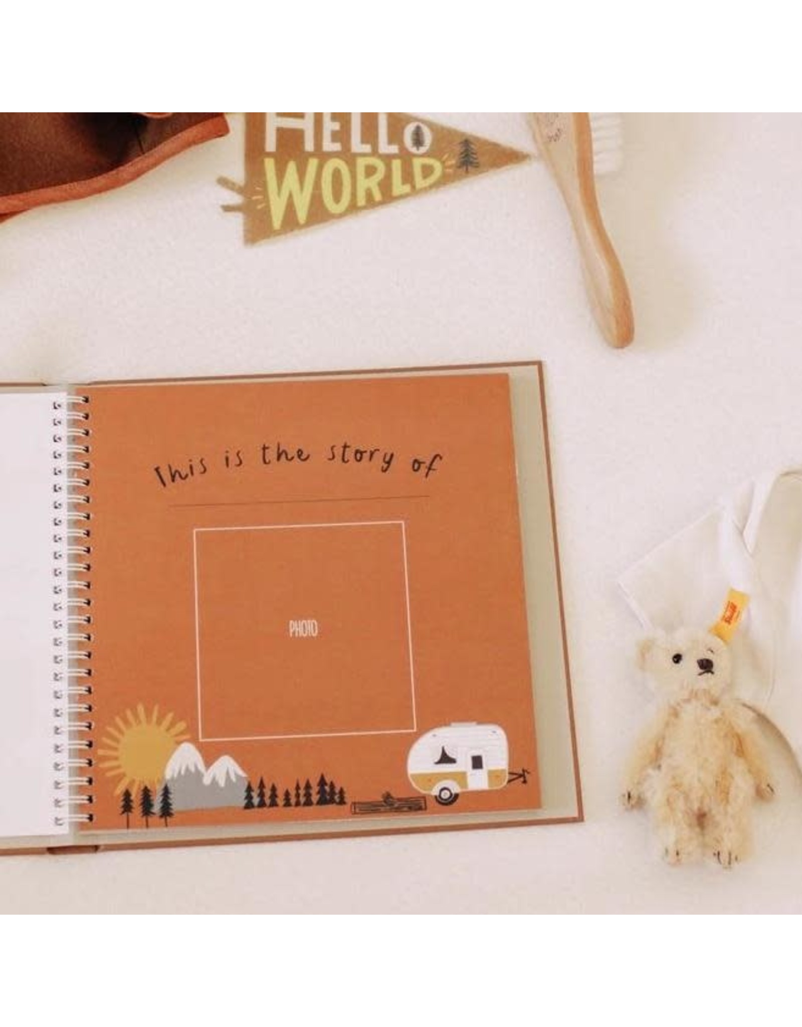 Lucy Darling Little Camper Memory Book   Lucy Darling