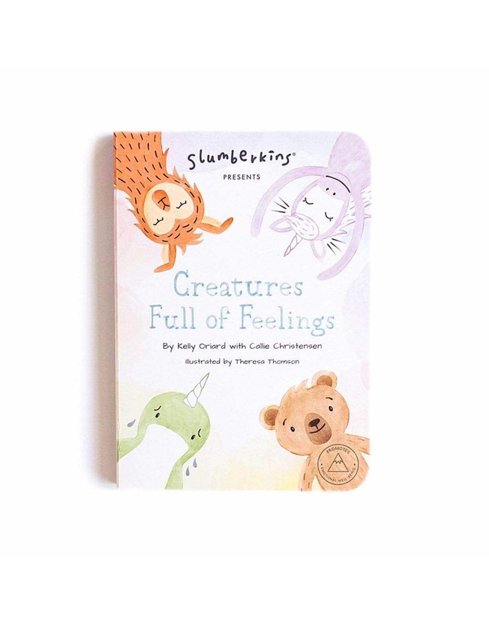 Slumberkins Creatures Full of Feelings Book   Slumberkins