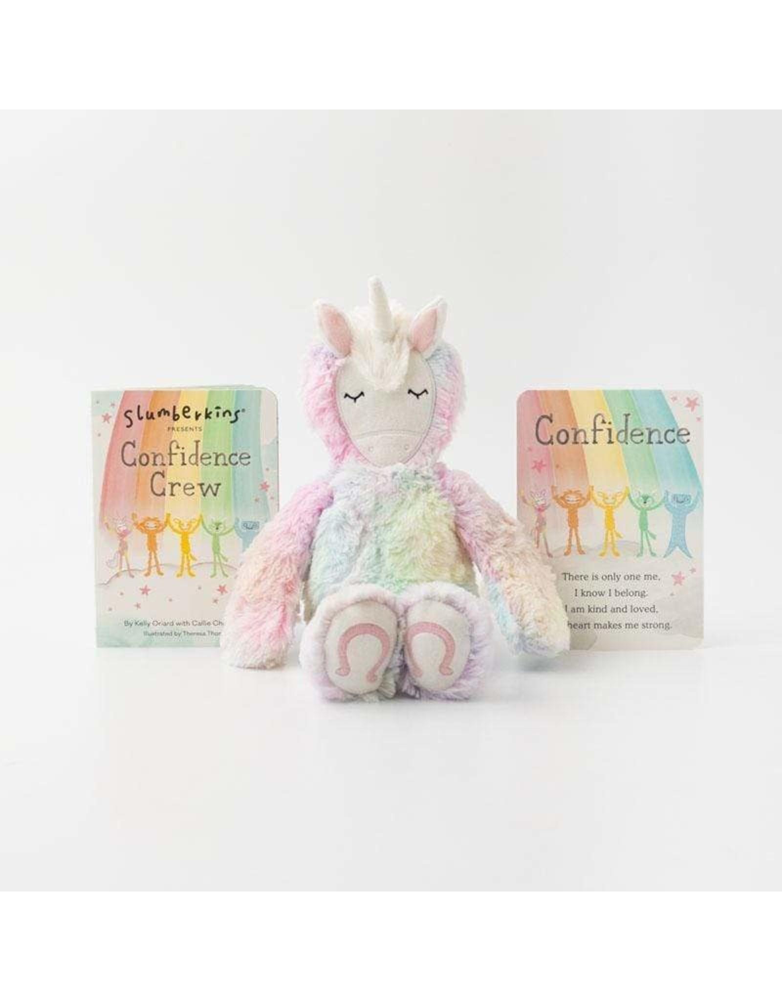 Slumberkins Rainbow Unicorn Confidence Crew | Slumberkins