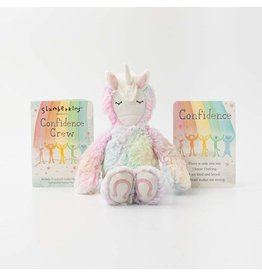 Slumberkins Rainbow Unicorn Confidence Crew