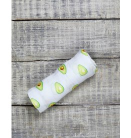 Malabar Baby Organic Muslin Swaddle (avocado)