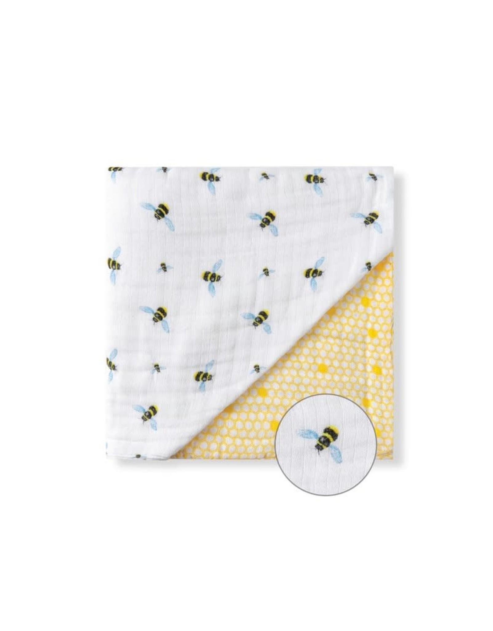 Malabar Baby Organic Baby Blanket bee | Malabar Baby