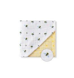 Malabar Baby Organic Baby Blanket (bee)