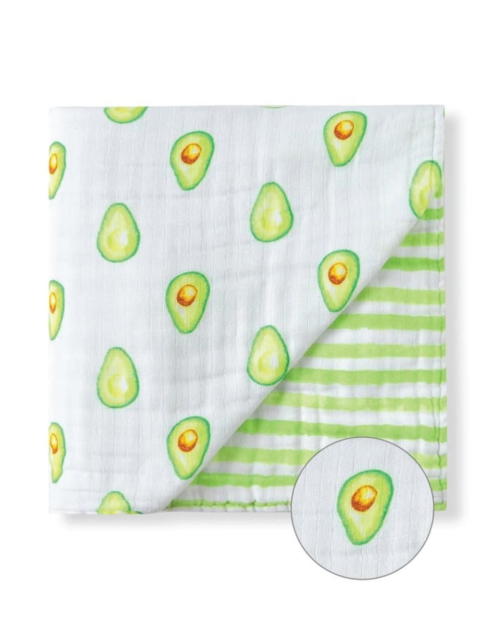 Malabar Baby Organic Baby Blanket (avocado) | Malabar Baby
