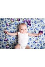 Malabar Baby 2 Pack Organic Cotton Swaddle (fresh fields) | Malabar baby