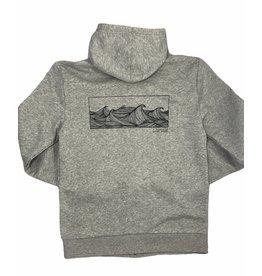 Frost + Fur Adult Zipper Hoodie Waves