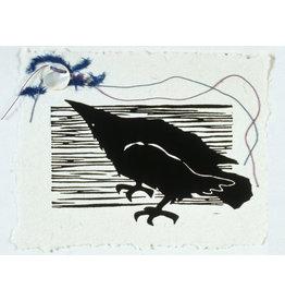 Evon Zerbetz Raven to the Moon (framed)